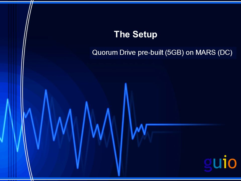 Quorum Drive pre-built (5GB) on MARS (DC)