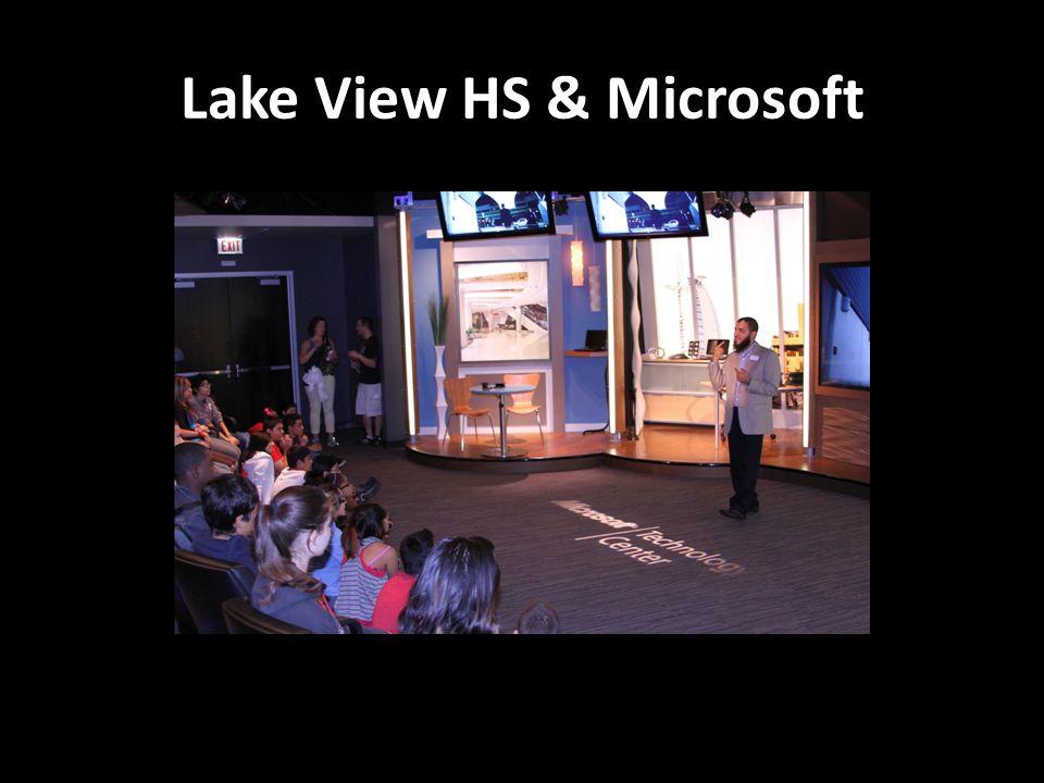 Lake View HS & Microsoft