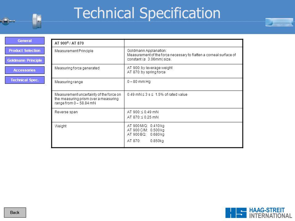 Technical Spec.