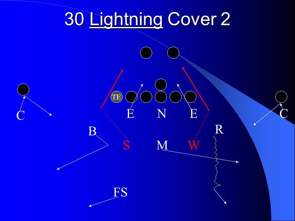 30 Lightning Cover 2 TE E N E C R S M W FS C B