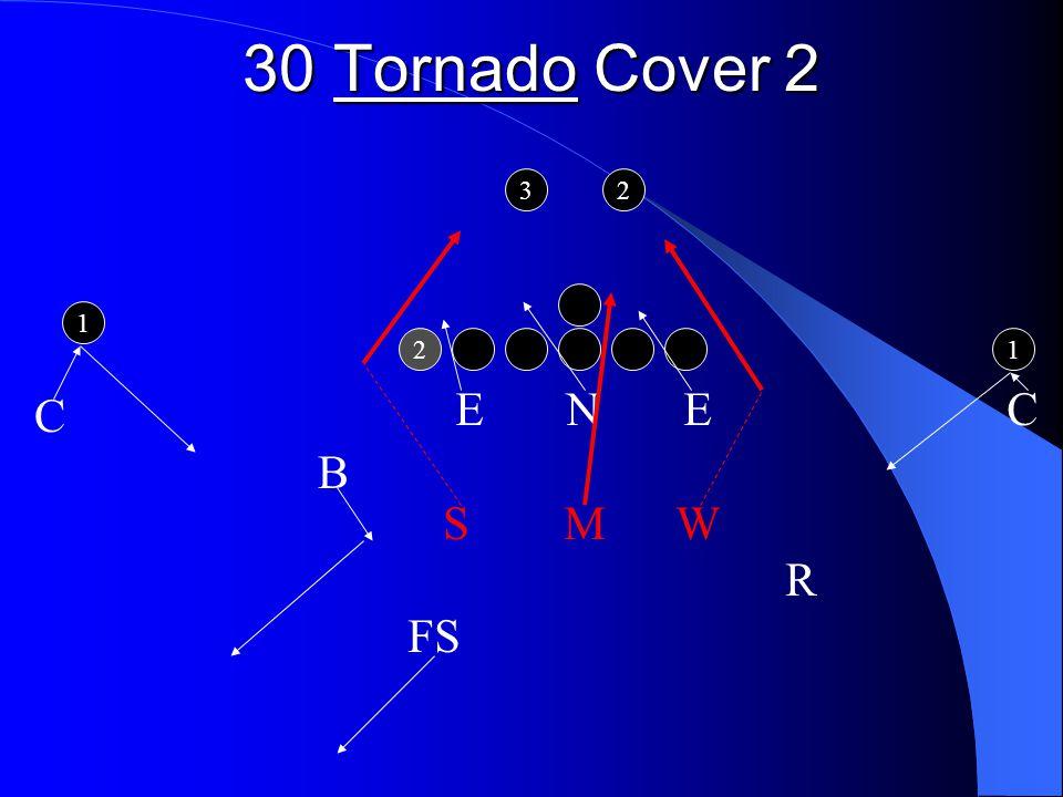 30 Tornado Cover 2 2 1 1 32 E N E C S M W R FS C B