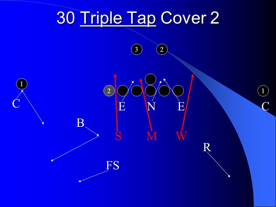 30 Triple Tap Cover 2 2 1 1 32 E N E C S M W FS B C R