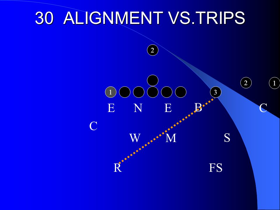 30 ALIGNMENT VS.TRIPS E N E C W M R FS S B C