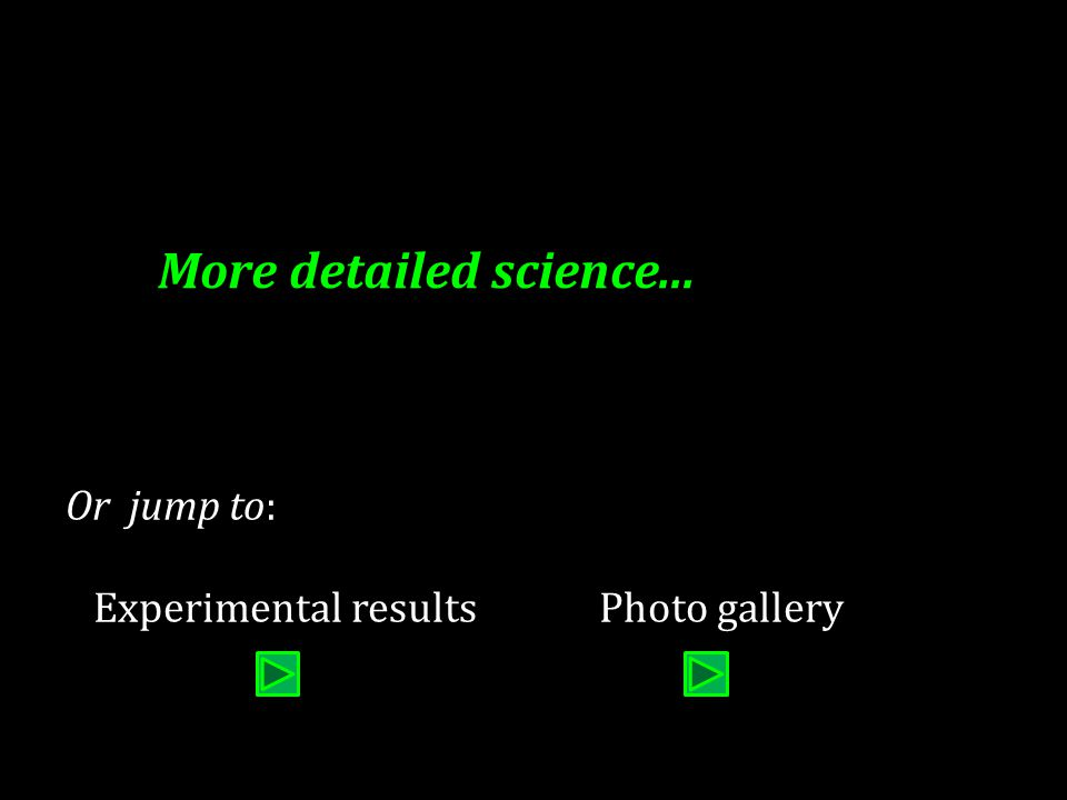 More detailed science... Or jump to: Experimental resultsPhoto gallery