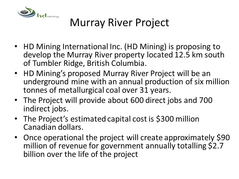 Murray River Project
