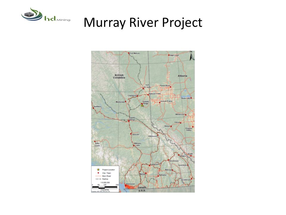 Murray River Project Provincial Environmental Assessment Process A Section 10 order was in issued June 29, 2012.