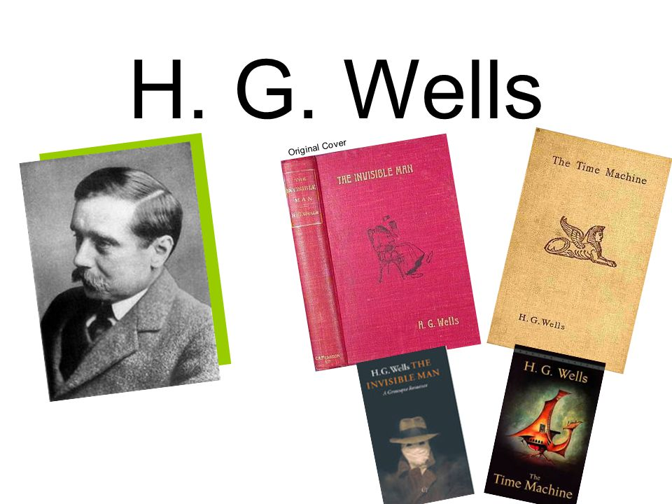 H. G. Wells Original Cover