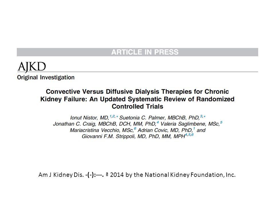 Am J Kidney Dis. -(-):---. ª 2014 by the National Kidney Foundation, Inc.