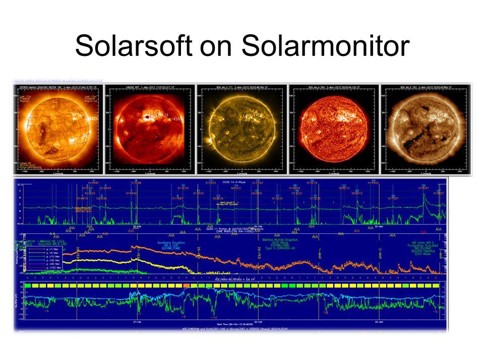 Solarsoft on Solarmonitor