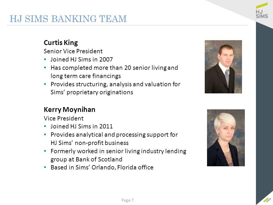 Case Study Whitecliffs Senior Living Page 108 Bank Financing