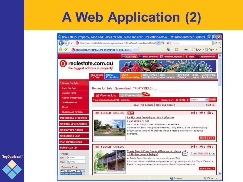 A Web Application (2)
