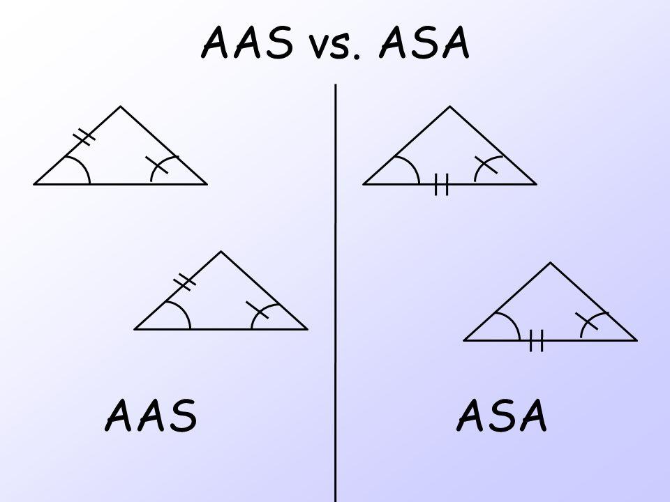 AAS vs. ASA ASAAAS