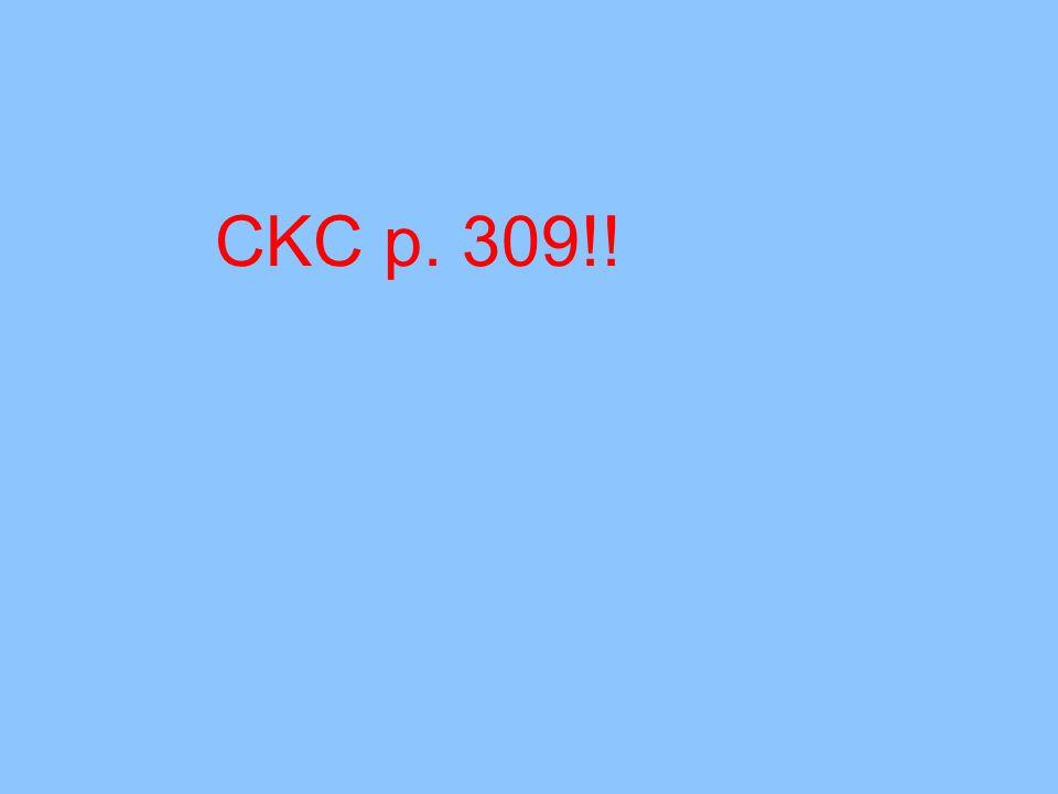 CKC p. 309!!