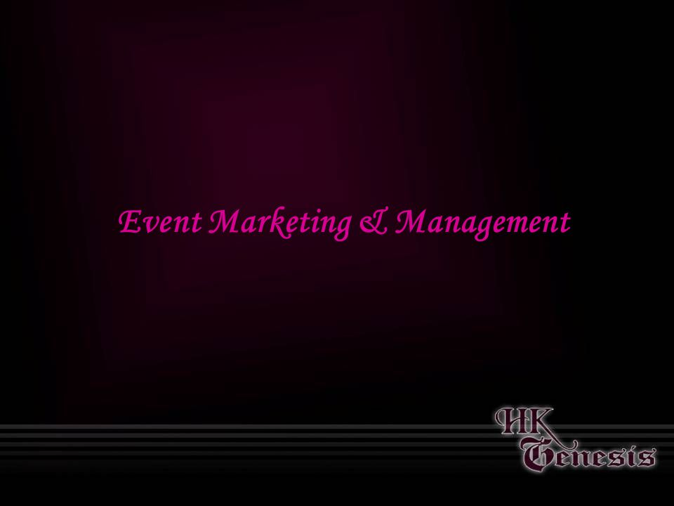 Event Marketing & Management