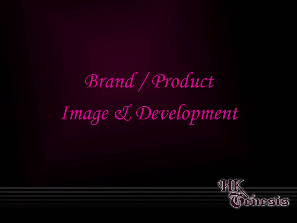 Brand / Product Image & Development