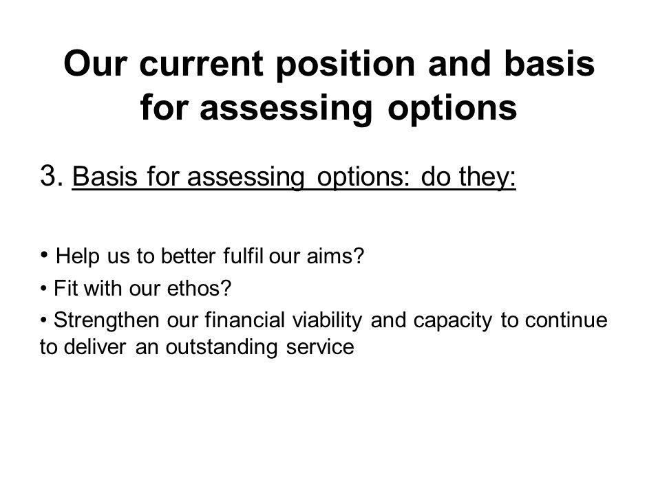 Financial Position Update 1.