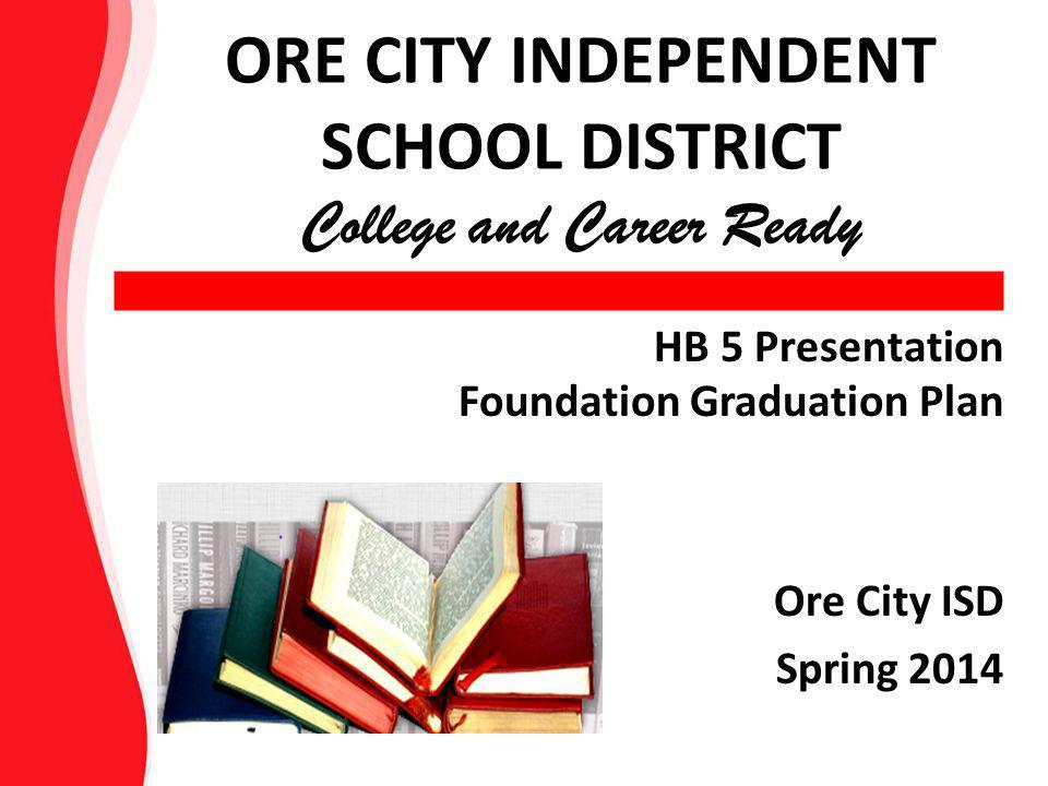 Present & Past Graduation Plans Students beginning high school in 2014- 2015 must complete the requirements of the new graduation program.