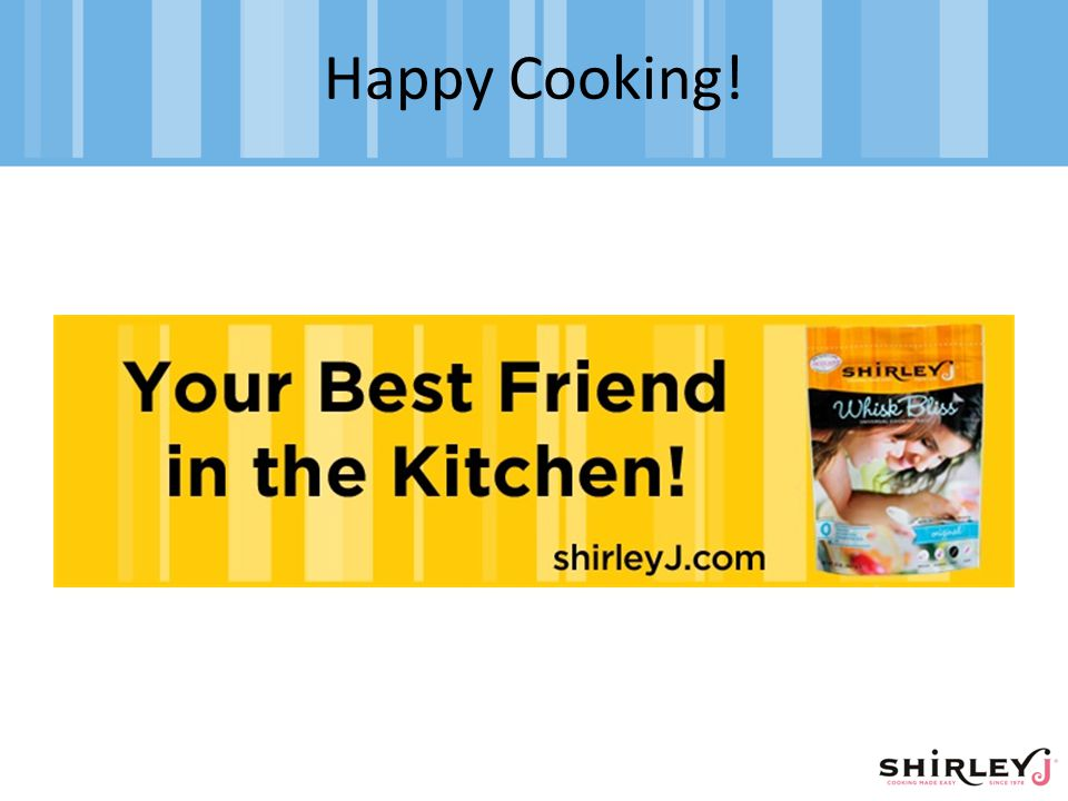 Happy Cooking!