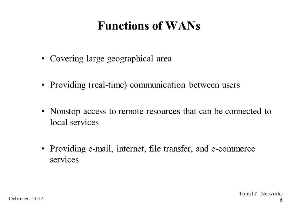 Debrecen, 2012. Train IT - Networks 97 IP Subnets