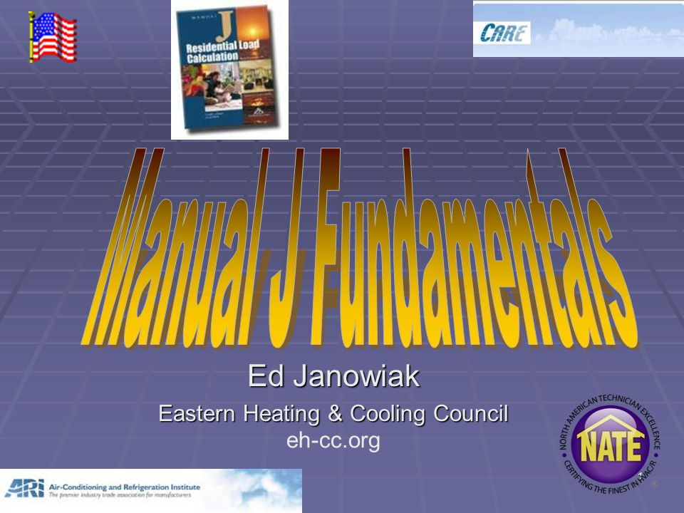 1 Ed Janowiak Eastern Heating & Cooling Council eh-cc.org