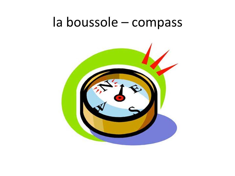 la boussole – compass