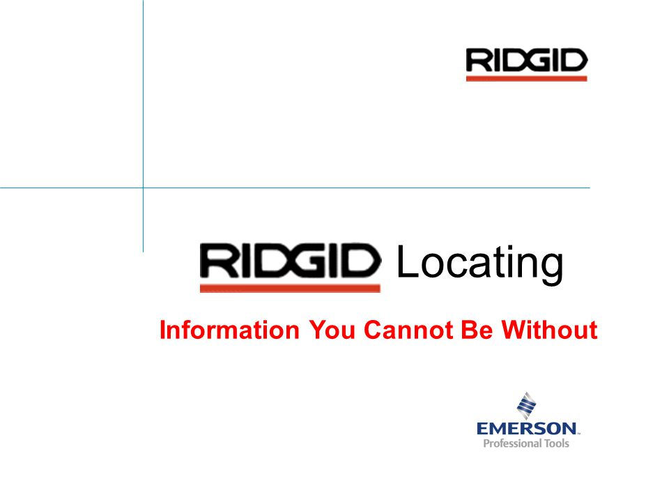 22 Company Confidential Keys To Finding Target Conventional Receivers RIDGID Makes Locating Easier & More Accurate By Giving More Information About The Signal Being Traced Sonde Locating: Must Understand Peaks & Nulls To Navigate To Target Pipe & Cable Locating: Must Understand 4 Key Points: 1.There Are 2 Ways To Put Signal On A Line (We Will Talk In Depth Tomorrow) 2.There Are Two Ways Signal Is Interpreted By The Receiver (Peak Antenna & Null Antenna) 3.Transmitter Frequencies Are Like AM-FM Radio Frequencies 4.The Receiver Cannot Improve A Poor Quality Signal (We Will Talk In Depth Tomorrow)