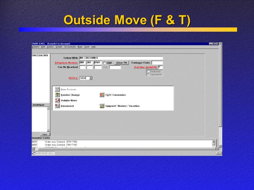 Outside Move (F & T)