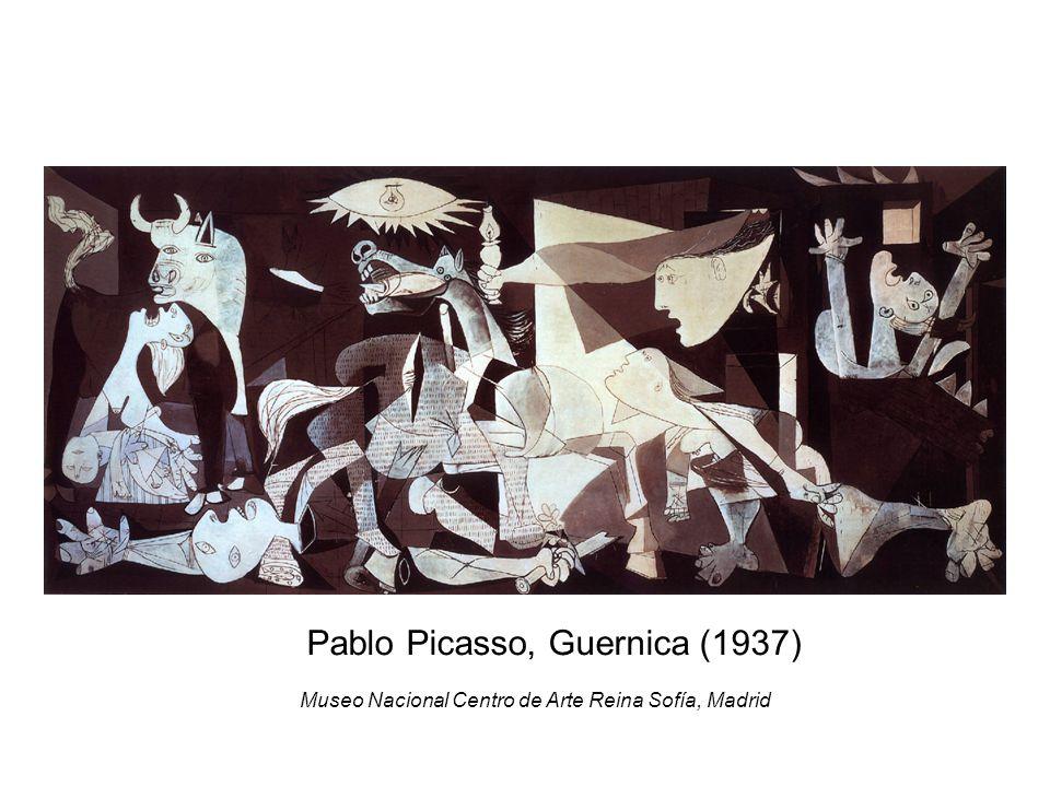 Pablo Picasso, Guernica (1937) Museo Nacional Centro de Arte Reina Sofía, Madrid
