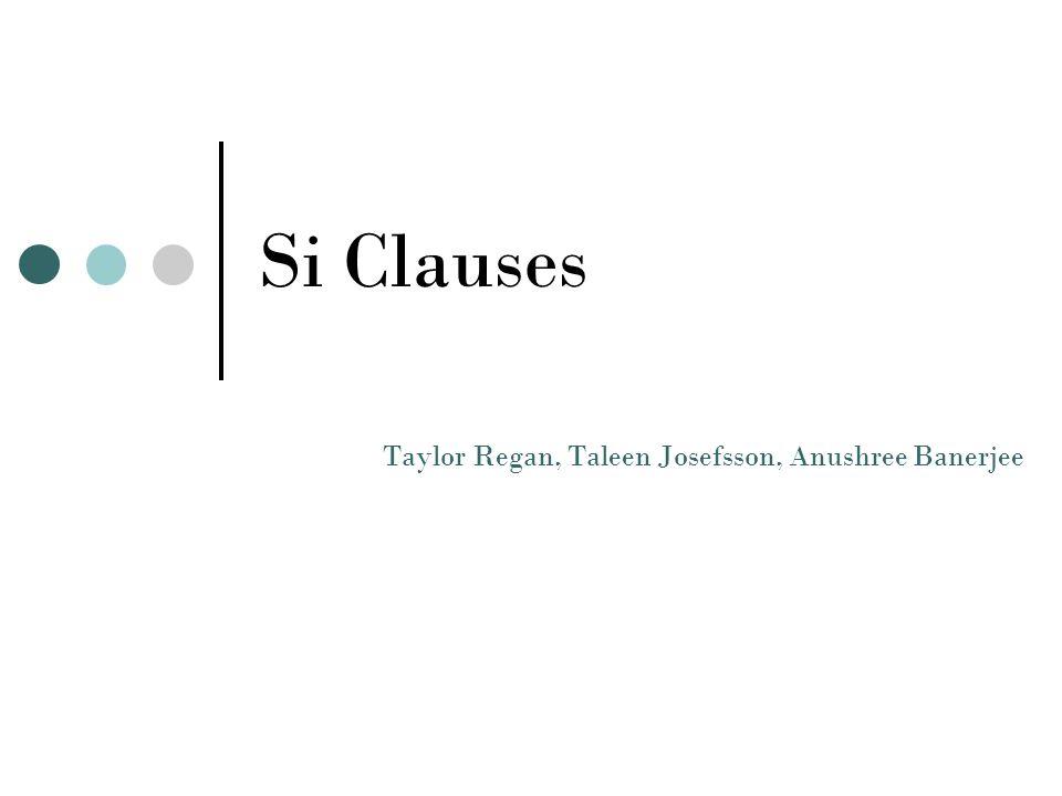 Si Clauses Taylor Regan, Taleen Josefsson, Anushree Banerjee