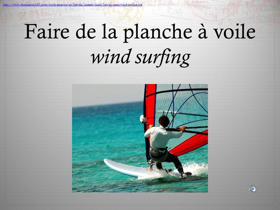 Faire de la planche à voile wind surfing http://www.destination360.com/north-america/us/hawaii/images/maui/hawaii-maui-wind-surfing.jpg