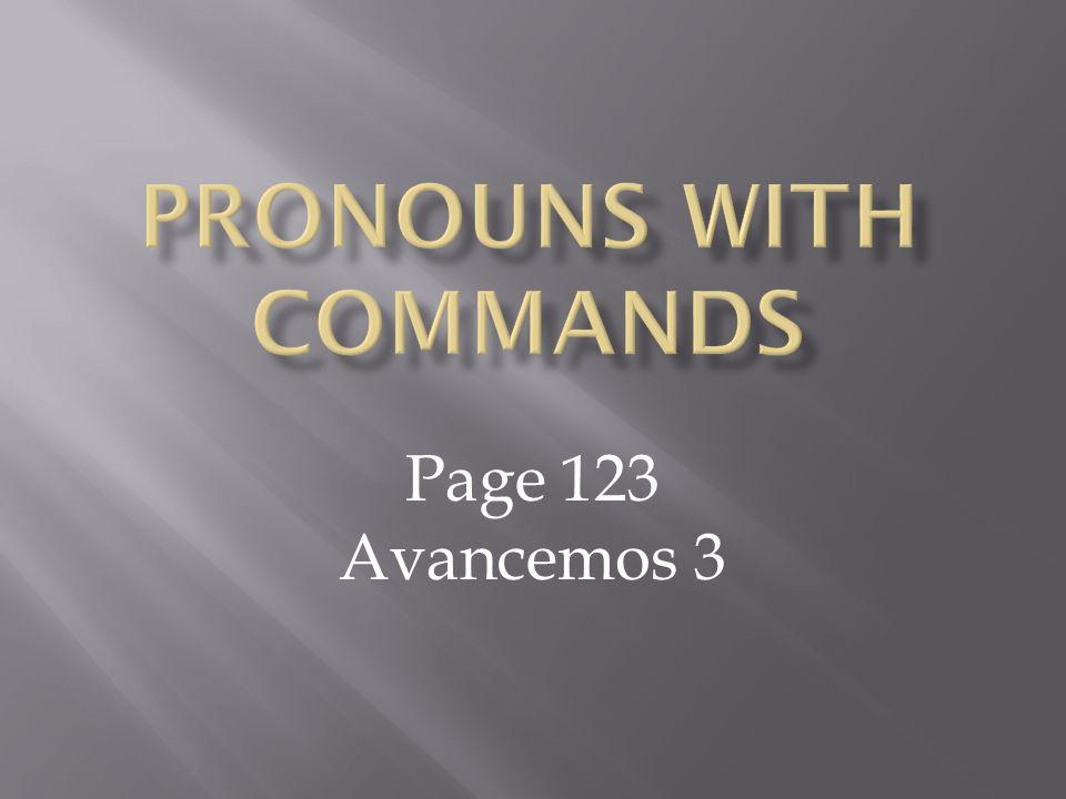 Page 123 Avancemos 3