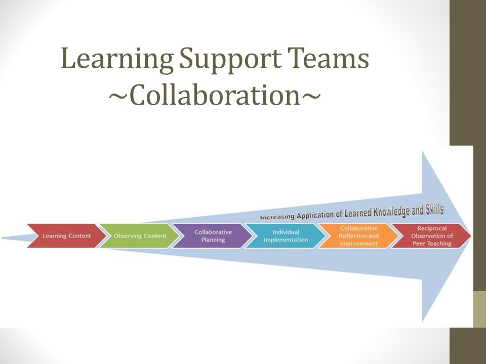 Learning Support Teams ~Collaboration~