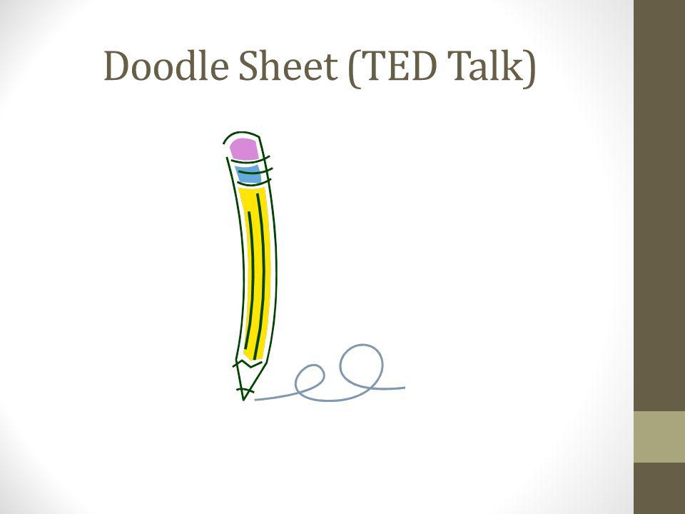 Doodle Sheet (TED Talk)