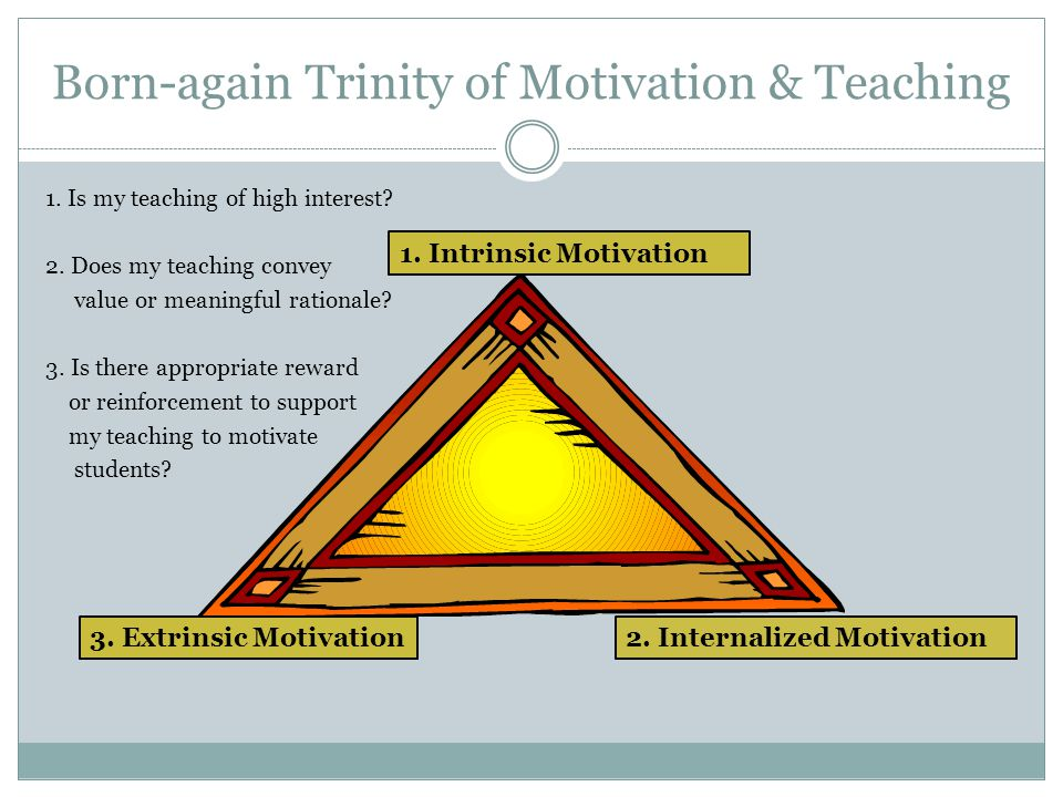 My Holy Trinity of Learning & Motivation 3 basic psychological needs of SDT: Compete nce Autonomy Connecte dness