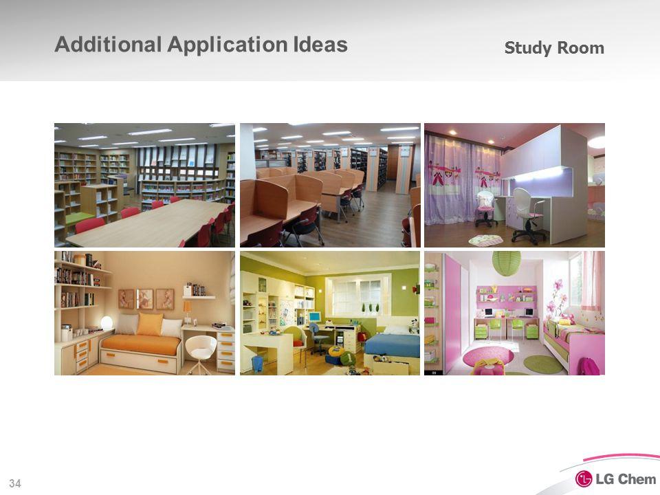 34 Study Room Additional Application Ideas
