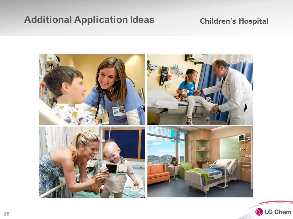 35 Children's Hospital Additional Application Ideas