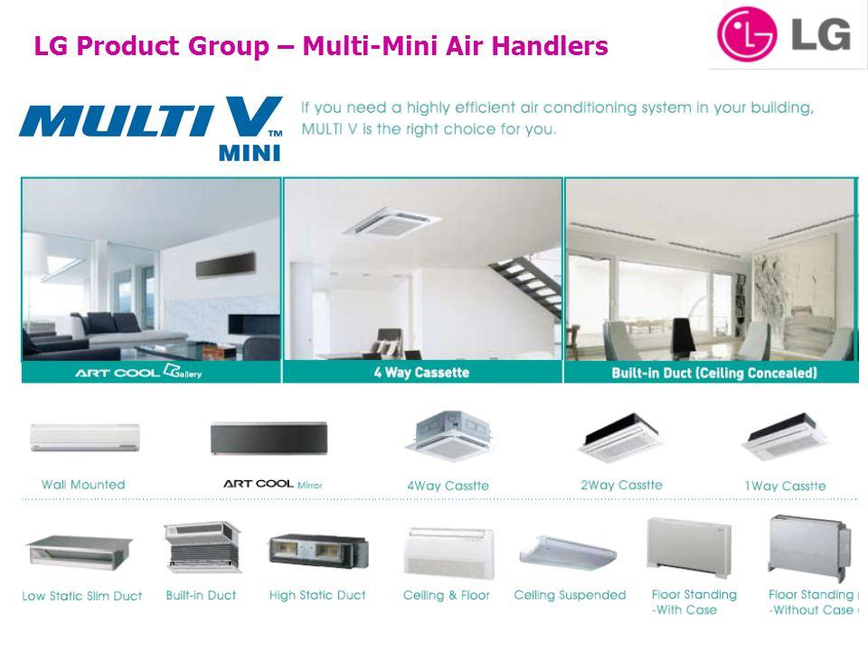 LG Product Group – Multi-Mini Air Handlers