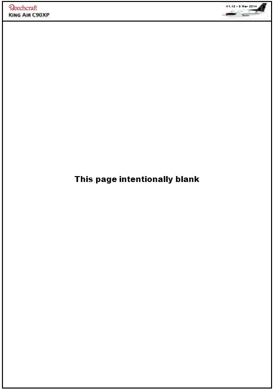 V1.12 – 9 Mar 2014 This page intentionally blank
