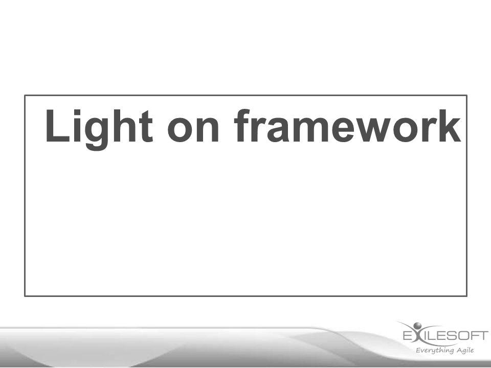 Light on framework