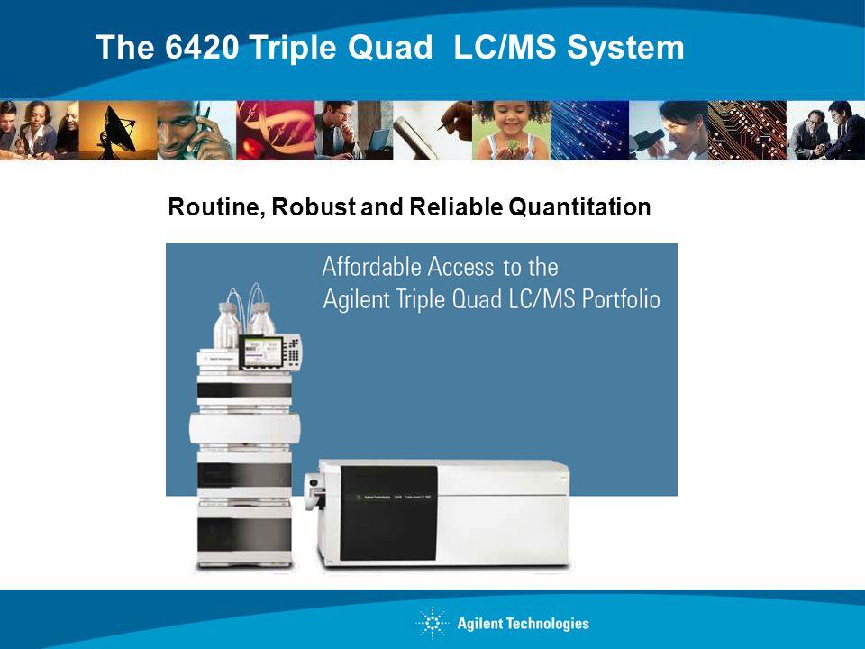 Agilent has the Newest Fleet of LC Triple Quads A New Agilent LC Triple Quad Launched Every Yr For last 4 yrs 6460 Triple Quad 6430 Triple Quad 6420 Triple Quad 6490 Triple Quad 6460 Triple Quad Performance