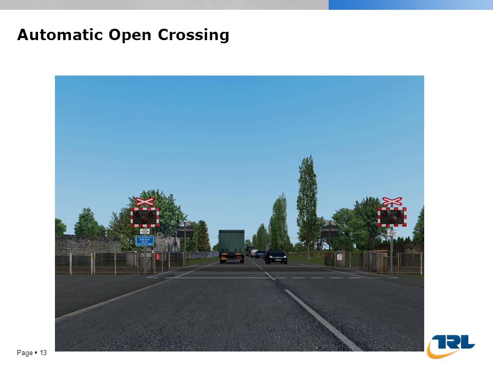 Page  12 Open Crossing