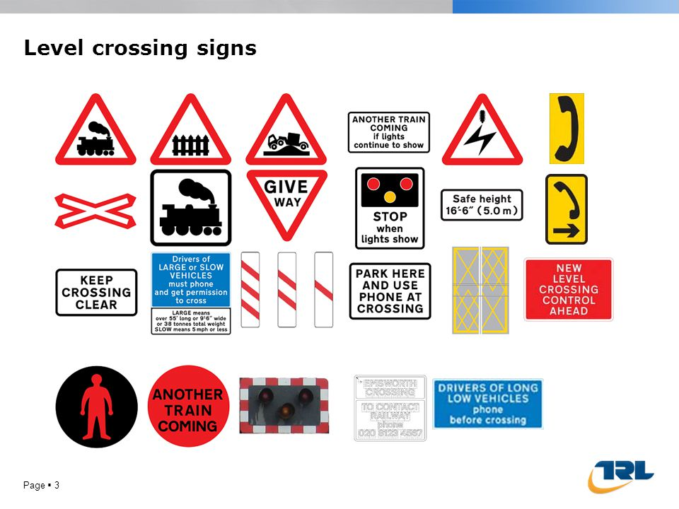 Level crossings in Britain are very safe Page  2 …but incidents still occur