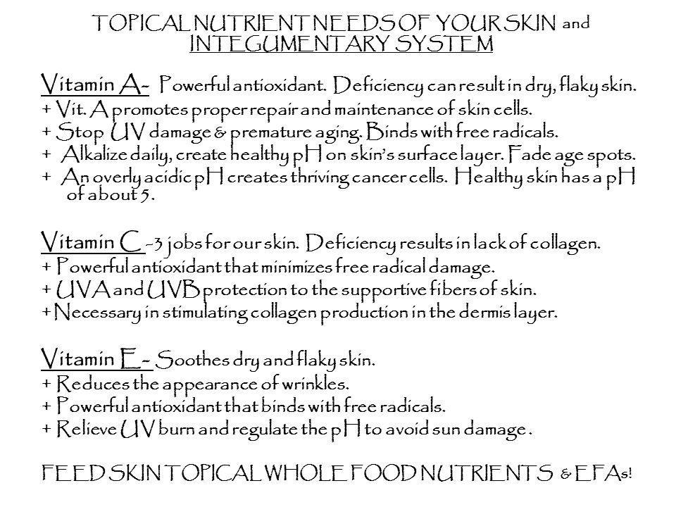 WHAT DO EFAs DO FOR YOUR SKIN.
