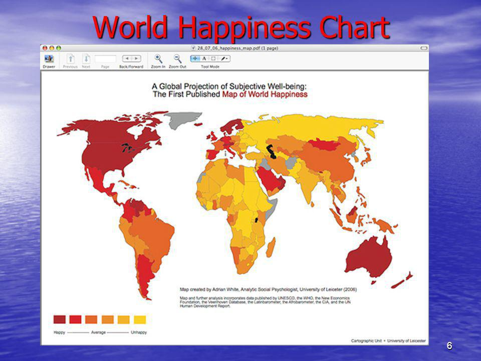 World Happiness Chart 6
