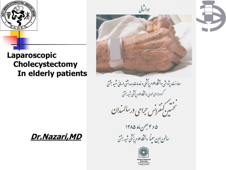 Postoperative complications We had not any post operative mortality.