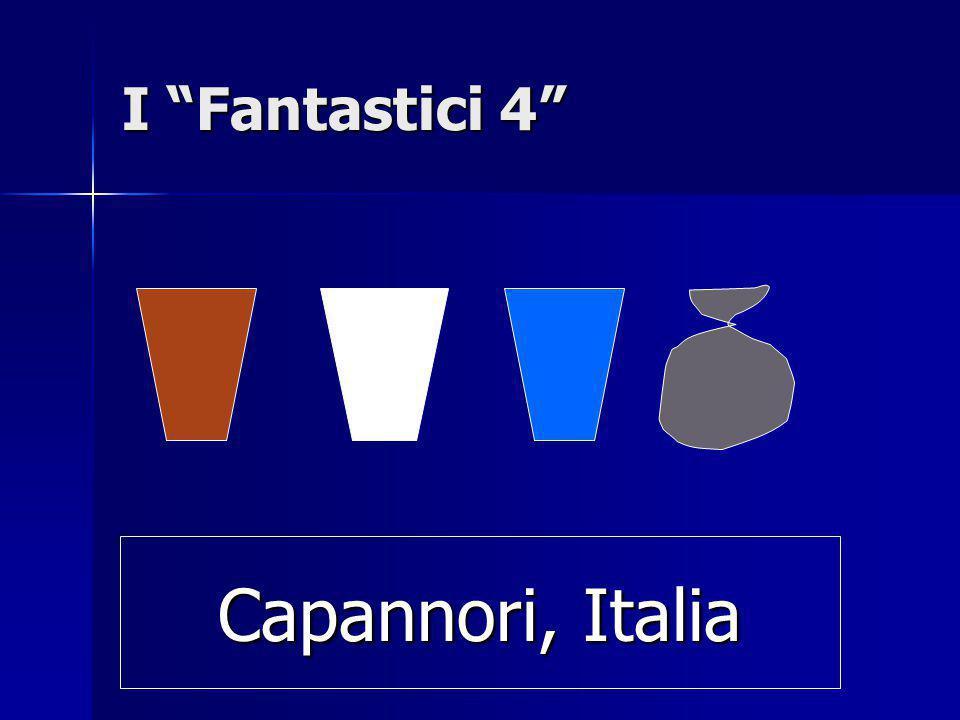 """I """"Fantastici 4"""" Capannori, Italia"""