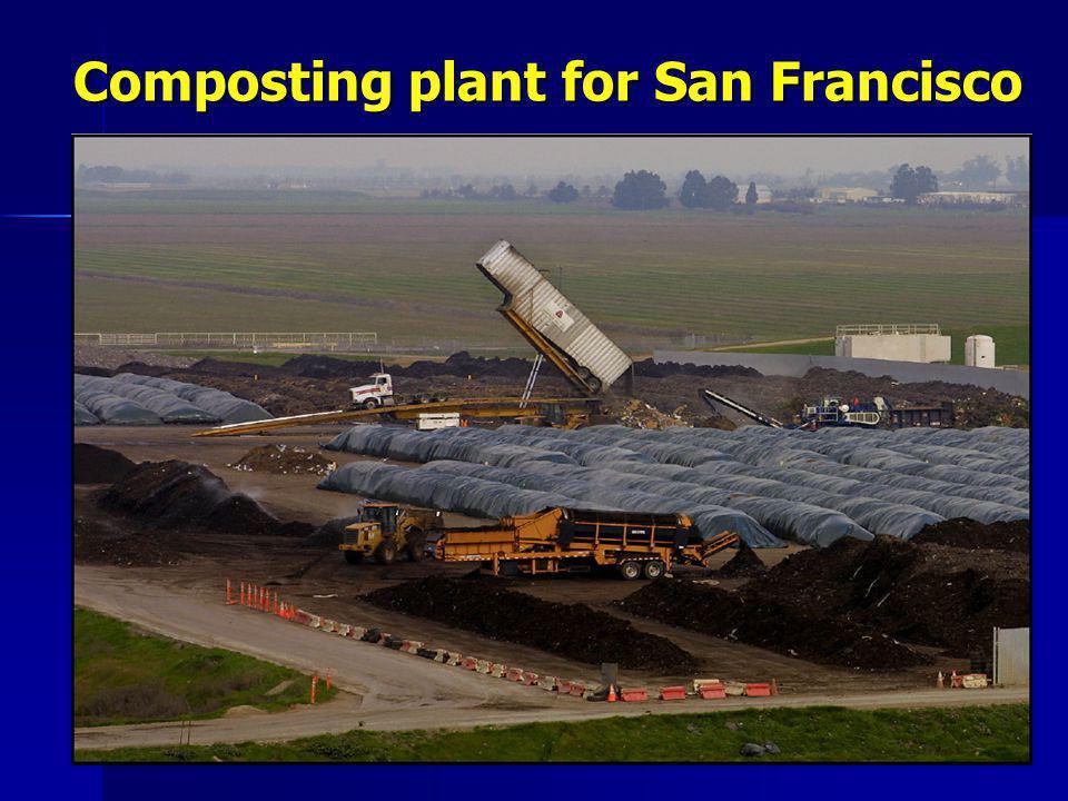 Composting plant for San Francisco