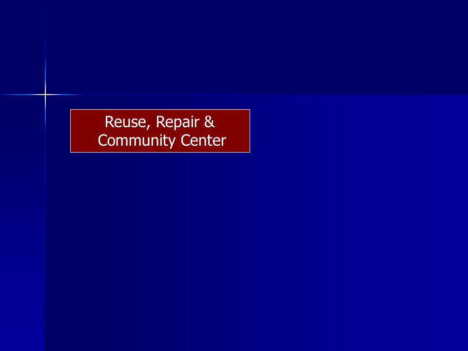 Reuse, Repair & Community Center Community Center