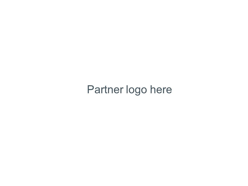 Partner logo here
