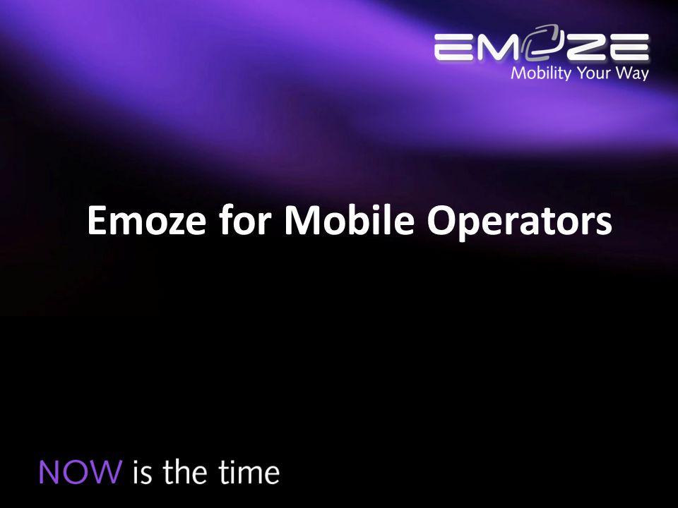 Emoze for Mobile Operators